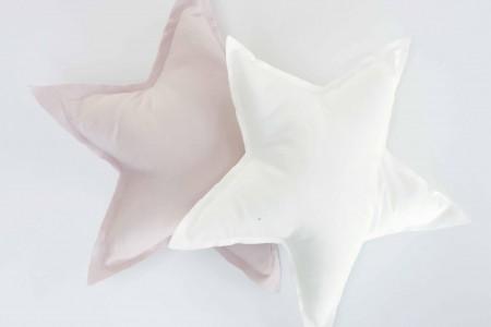 stjerneformet puder til børneværelset.