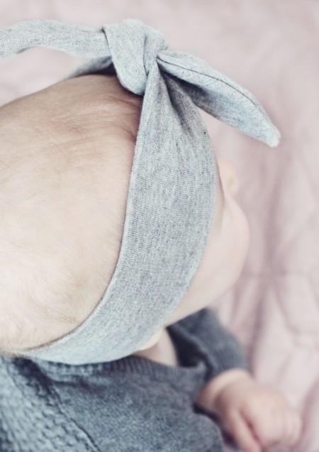 pandebånd med sløjfe til baby fra lehof