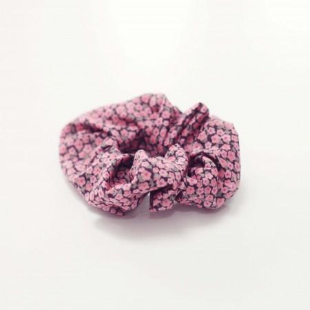 maritim schrunchies, elastikker med blomster print.